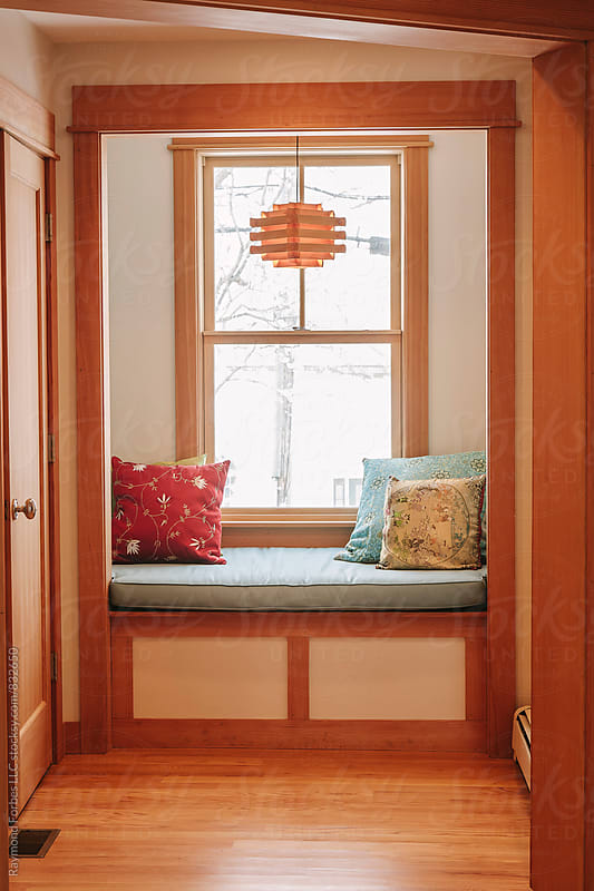 Reading Nook in Residential Home by Raymond Forbes LLC for Stocksy United