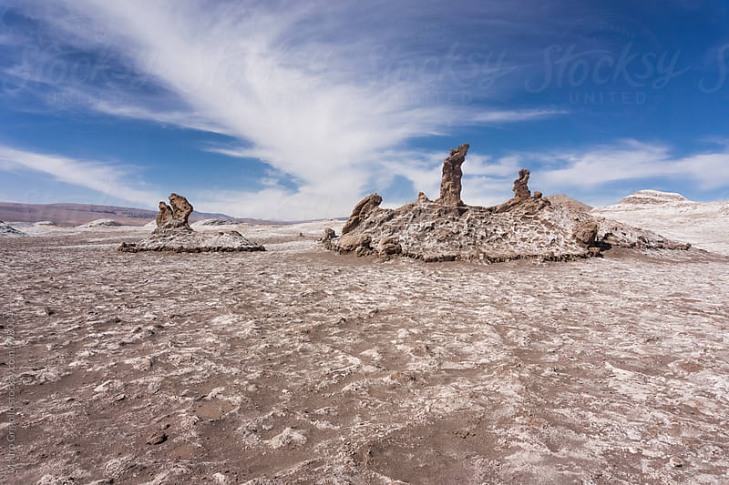 Adventure in the Desert around San Pedro de Atacama, Chile. by Mauro Grigollo for Stocksy United
