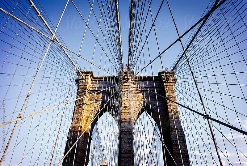 Brooklyn Bridge by J.R. PHOTOGRAPHY for Stocksy United