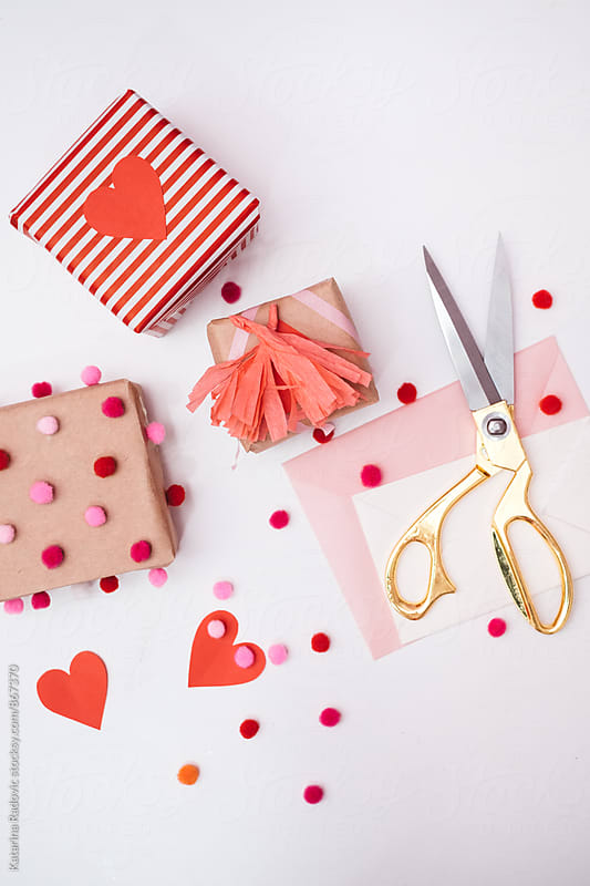Valentine's Gift Crafts by Katarina Radovic for Stocksy United
