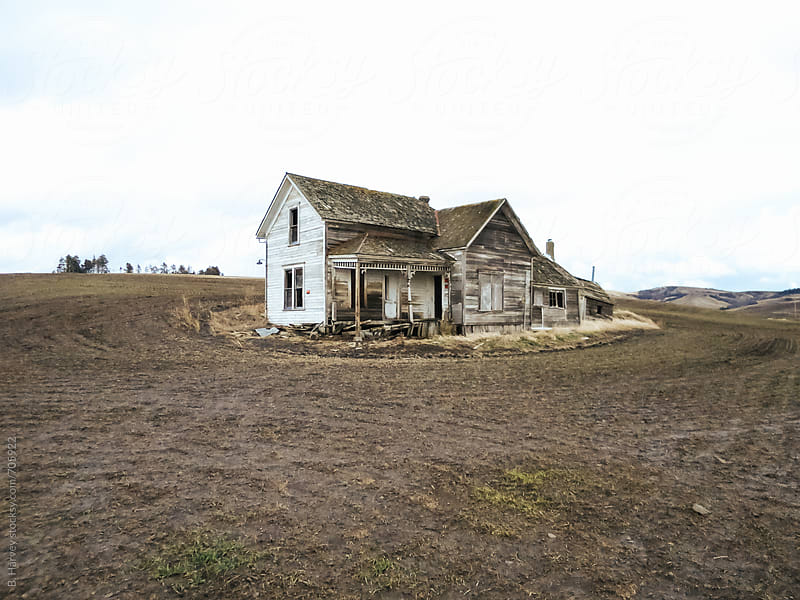 Old Abandoned House by B. Harvey for Stocksy United