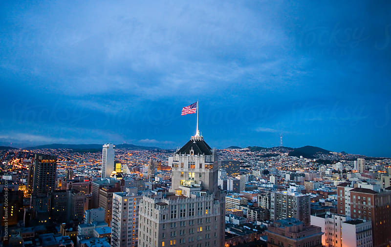 Overlooking San Francisco from Nob Hill by Thomas Hawk for Stocksy United