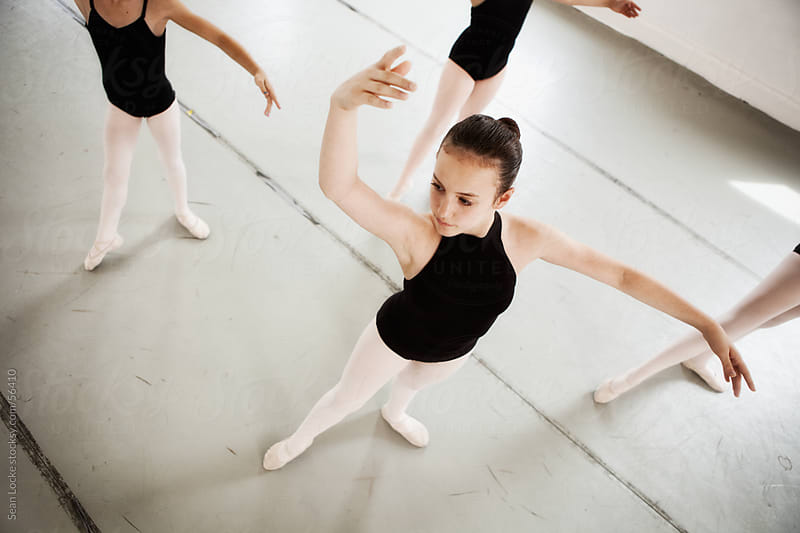 Ballet: Practicing Arm Positioning by Sean Locke for Stocksy United