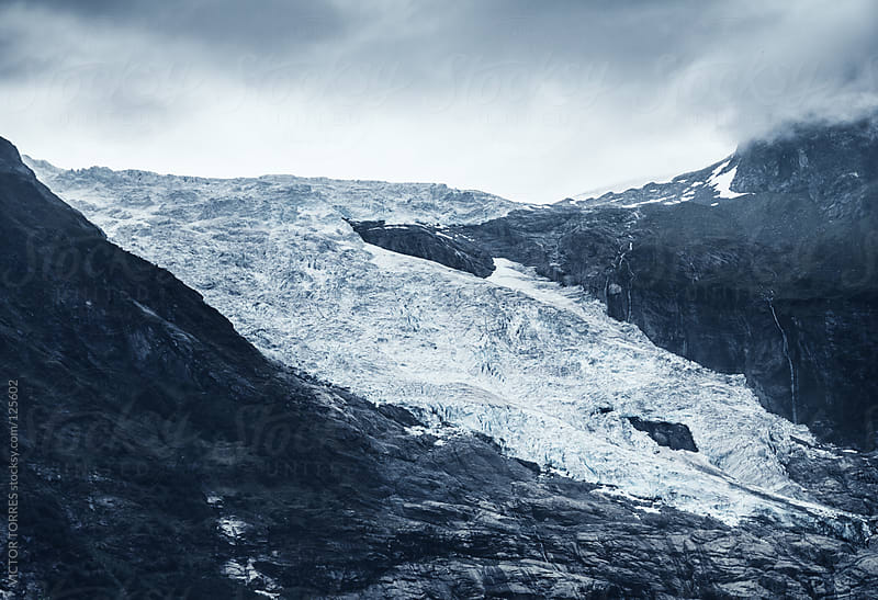 Boyabreen Glacier by VICTOR TORRES for Stocksy United