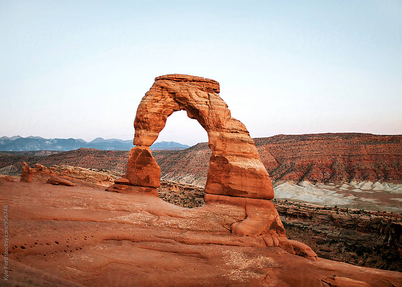 Delicate Arch by Kyle Ford for Stocksy United