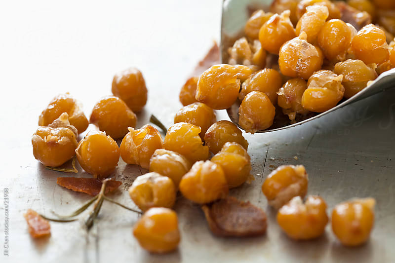 Roasted Chick Peas by Jill Chen for Stocksy United