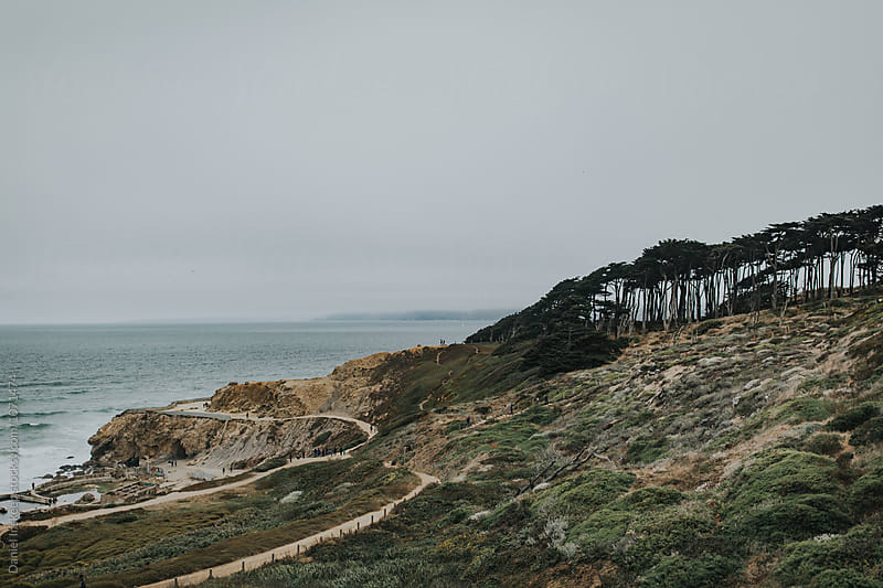 Shot of Land's End in San Francisco, California by Daniel Inskeep for Stocksy United
