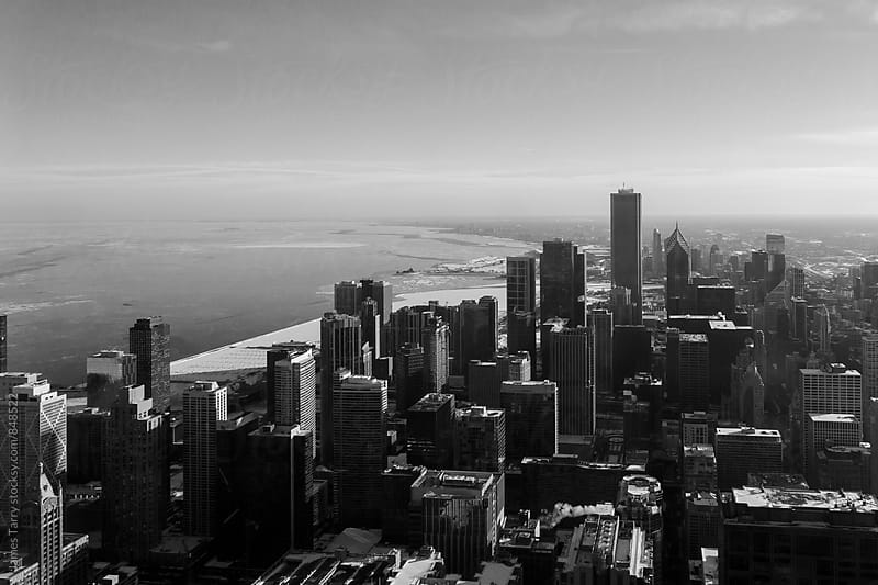 Chicago B&W by James Tarry for Stocksy United