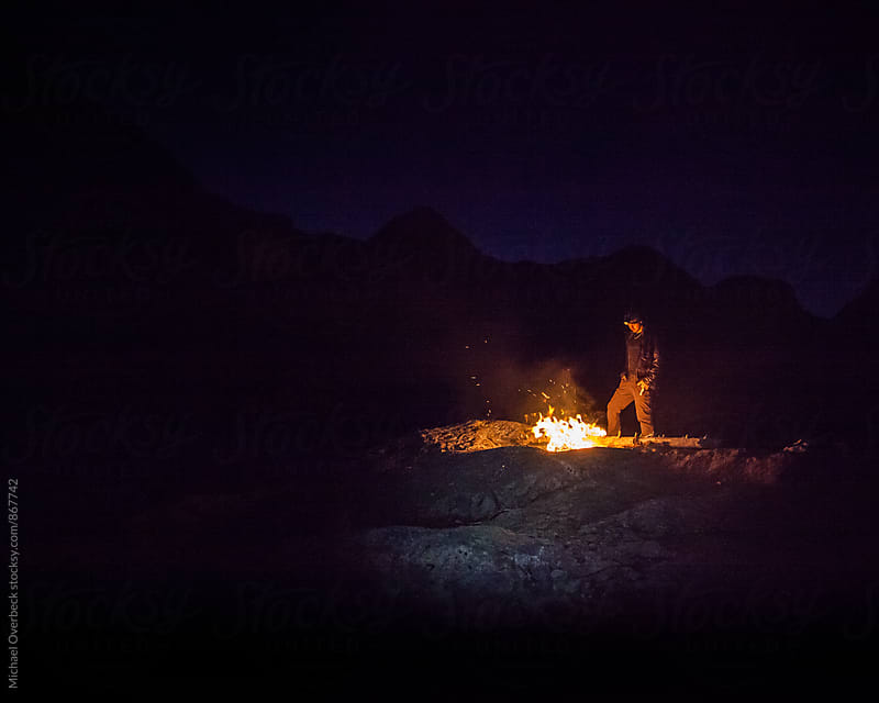 Camp Fire by Michael Overbeck for Stocksy United