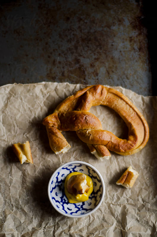 pretzel  by Crissy Mitchell for Stocksy United