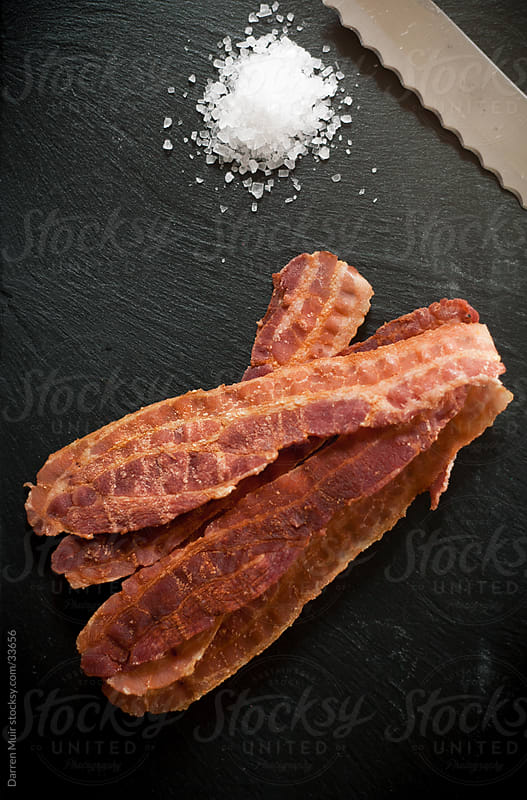 Crispy bacon. by Darren Muir for Stocksy United