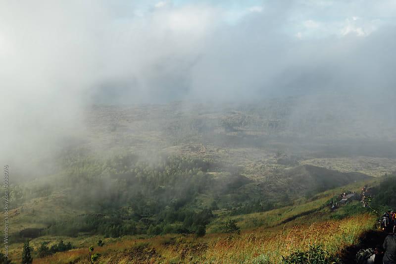 Beautiful Foggy Landscape by Jesse Weinberg for Stocksy United