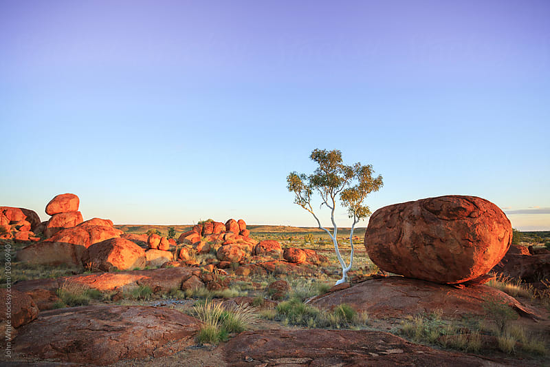 Karlu Karlu / Devils Marbles Conservation Reserve. Northern Territory. Australia. by John White for Stocksy United