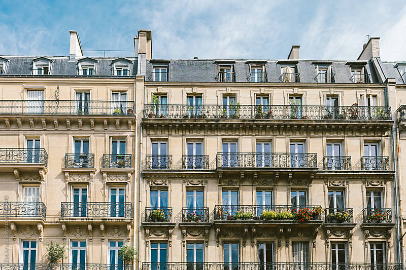 Paris City Apartments by Zocky for Stocksy United