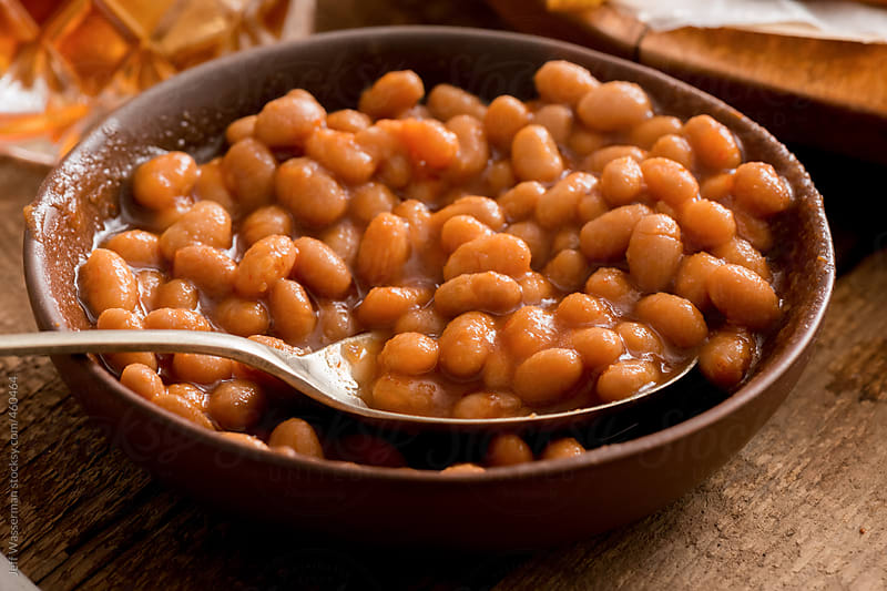 Baked Beans in Bowl by Studio Six for Stocksy United