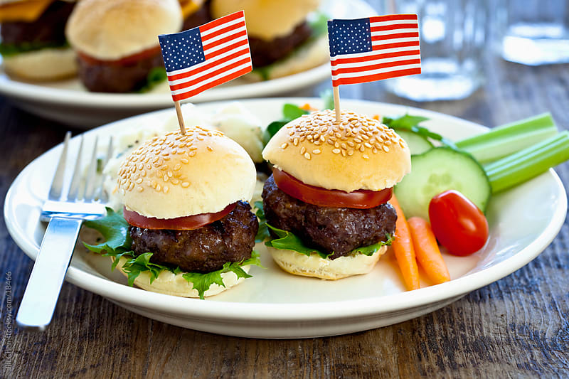American Burger by Jill Chen for Stocksy United