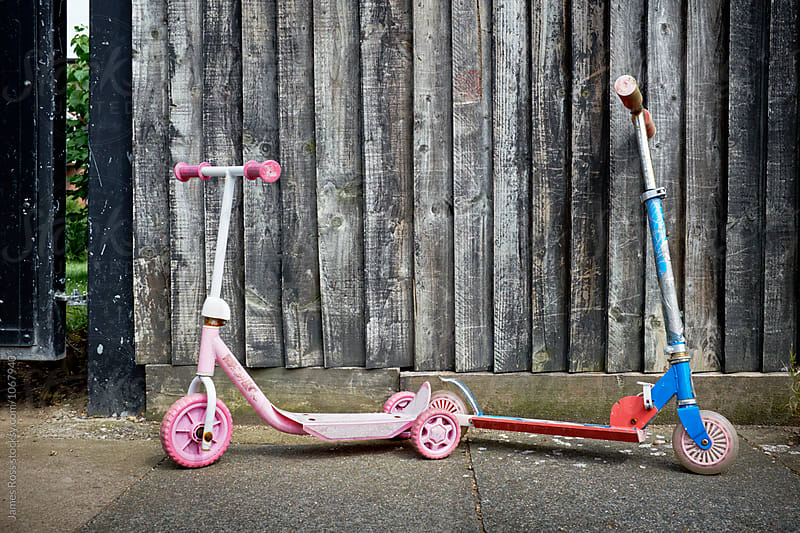 Two Scooters by James Ross for Stocksy United