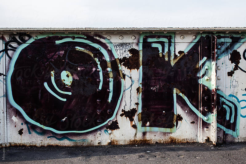 OK Graffiti by Mosuno for Stocksy United
