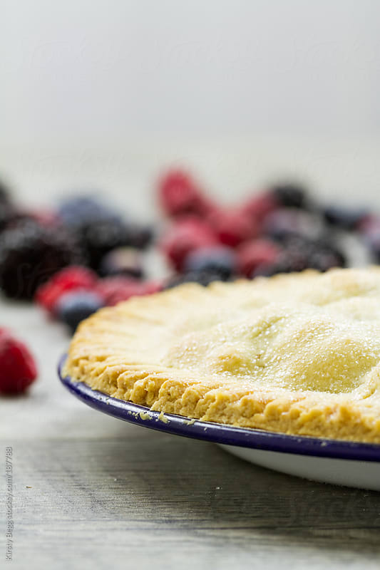 Baked pie crust by Kirsty Begg for Stocksy United