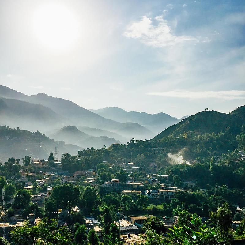 Smokey Mountains in Pakistan by Murtaza Daud for Stocksy United