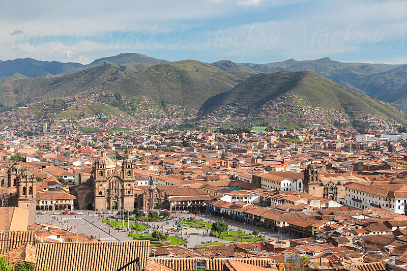 Cusco Overview by Lucas Brentano for Stocksy United