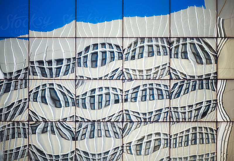 Office Building Reflections by Helen Sotiriadis for Stocksy United