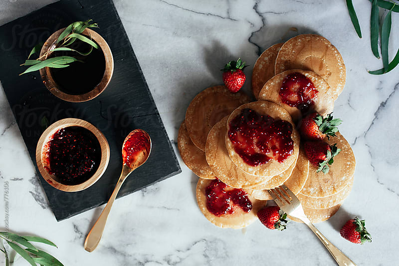 Pancake Brunch by Kayla Snell for Stocksy United