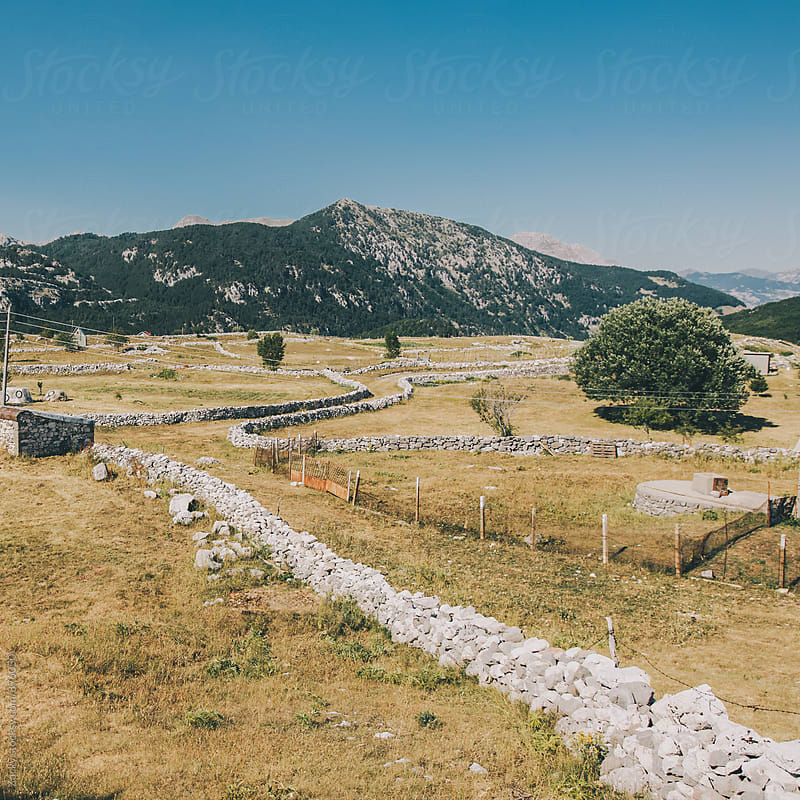 Montenegrin village landscape by Zocky for Stocksy United