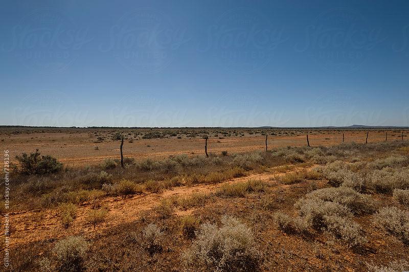 red dirt of outback rural Australia by Gillian Vann for Stocksy United