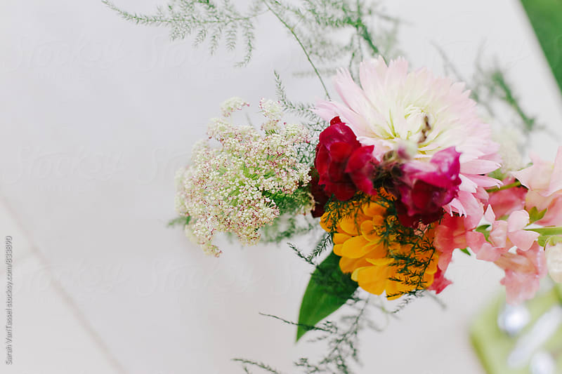 Wedding Flowers by Sarah VanTassel for Stocksy United