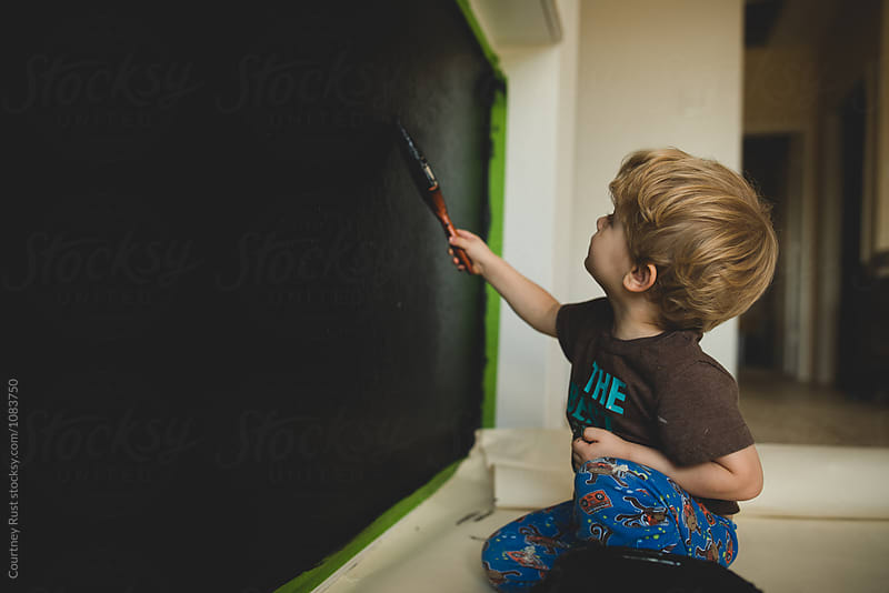 The new chalkboard by Courtney Rust for Stocksy United