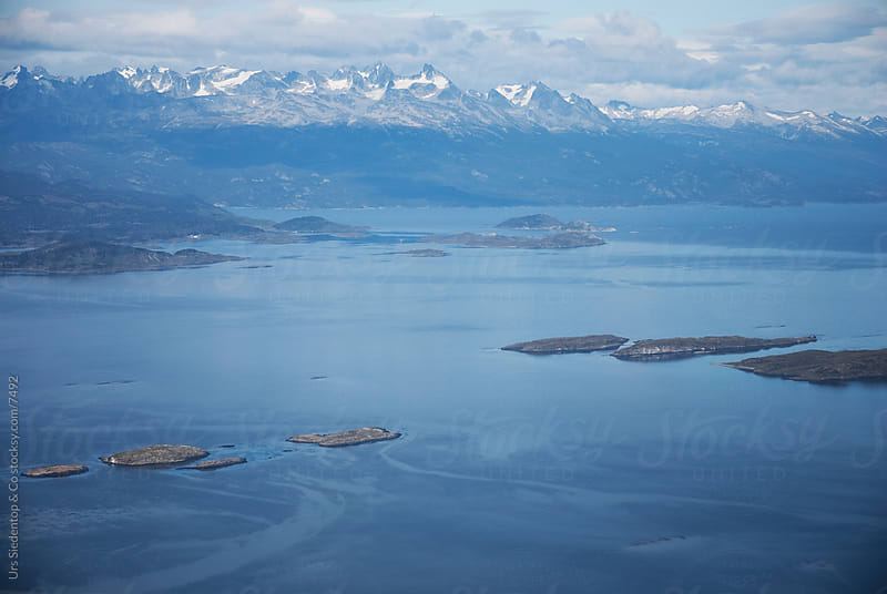 Landscape around Ushuaia  by Urs Siedentop & Co for Stocksy United