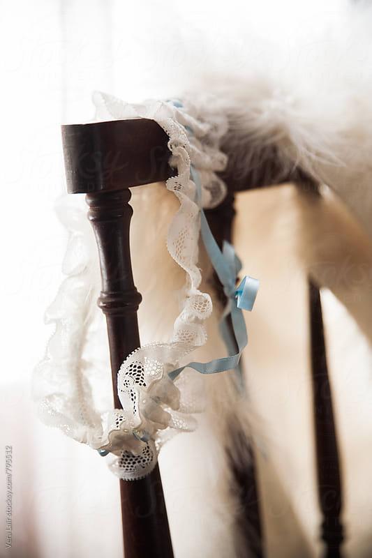 wedding garter by Vera Lair for Stocksy United