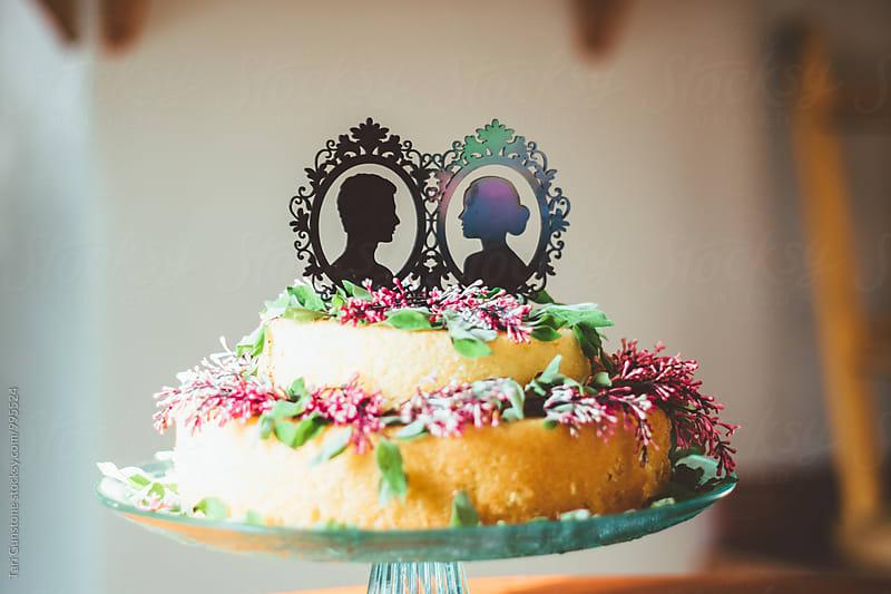 Wedding cake by Tari Gunstone for Stocksy United