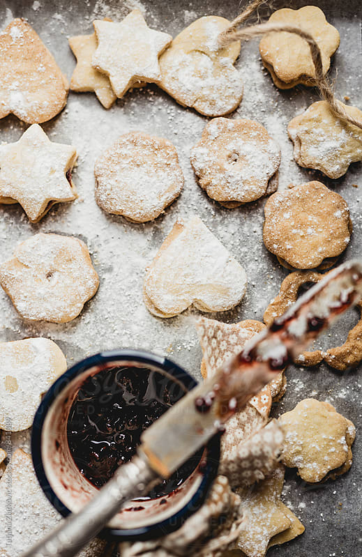 Homemade cookies by Tatjana Ristanic for Stocksy United