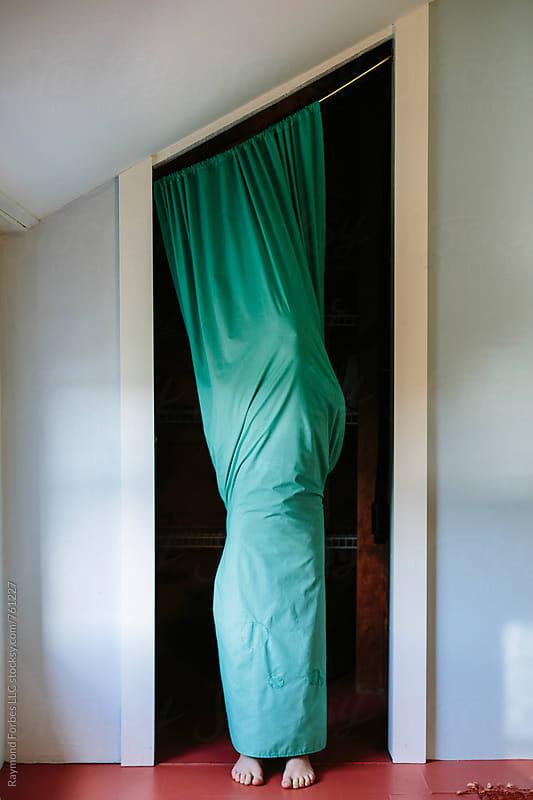 Mummy in Aqua by Raymond Forbes LLC for Stocksy United