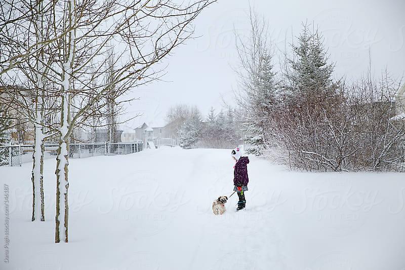 Winter Walk by Dana Pugh for Stocksy United