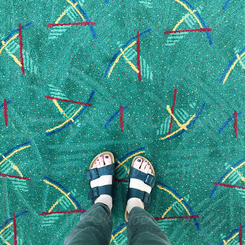 Portland Airport Carpet by B. Harvey for Stocksy United