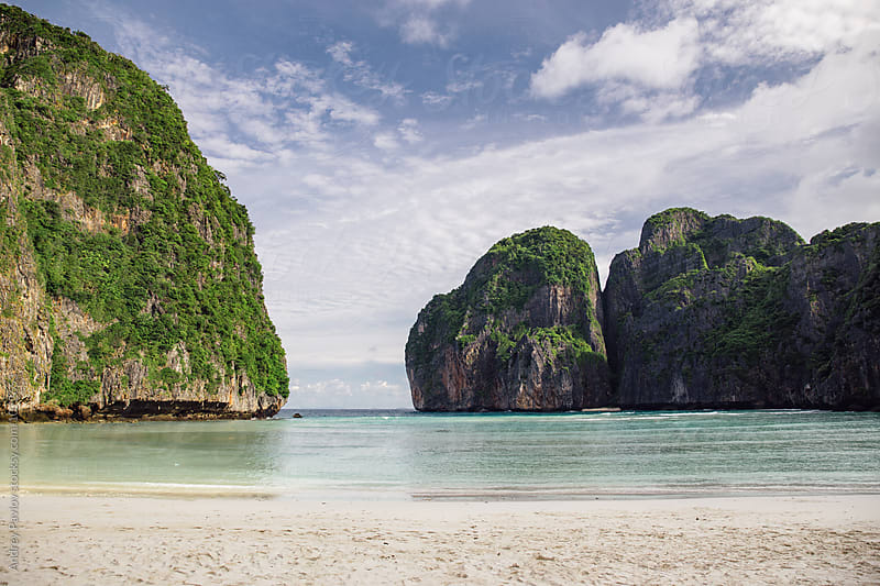 Exotic beautiful beach of Phi-Phi island by Andrey Pavlov for Stocksy United