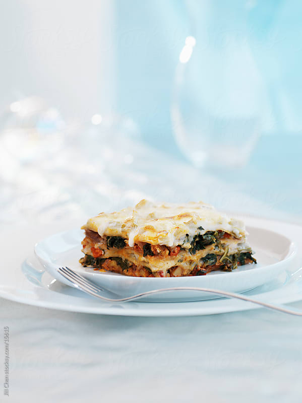 Simple Lasagna by Jill Chen for Stocksy United