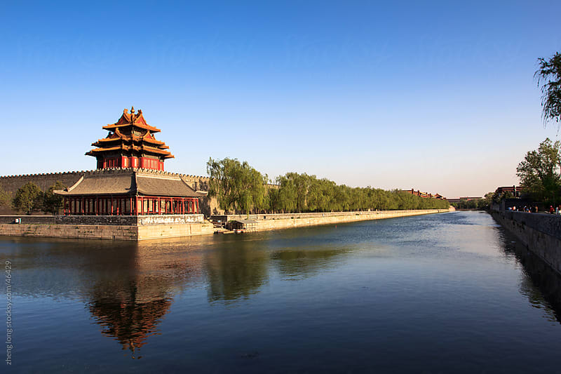 the forbidden city by zheng long for Stocksy United