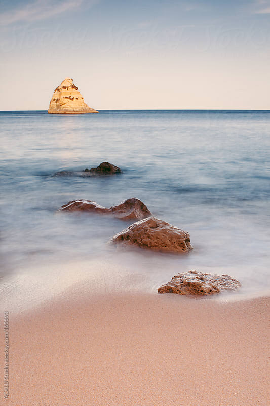 Rocks in Lagos, Portugal by ACALU Studio for Stocksy United