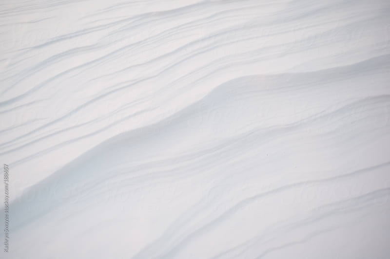 Abstracted view of snow by Kathryn Swayze for Stocksy United