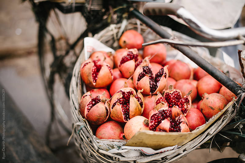 Pomegranates by Ryan Dearth Photography for Stocksy United