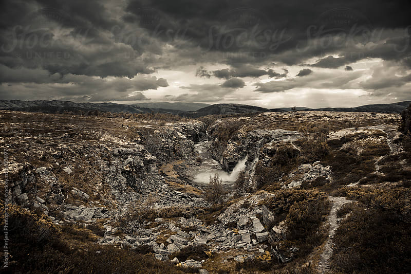 Landscape Rondane Norway by Nicolai Perjesi Photography for Stocksy United