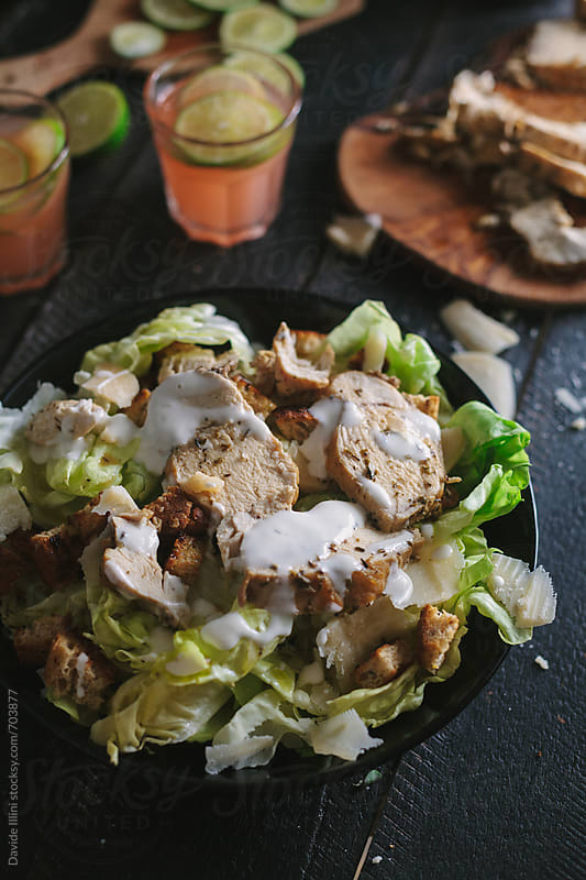 Caesar Salad by Davide Illini for Stocksy United