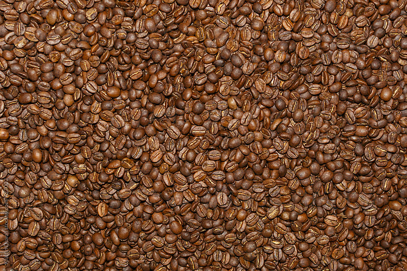 Roasted coffee beans by Kristin Duvall for Stocksy United