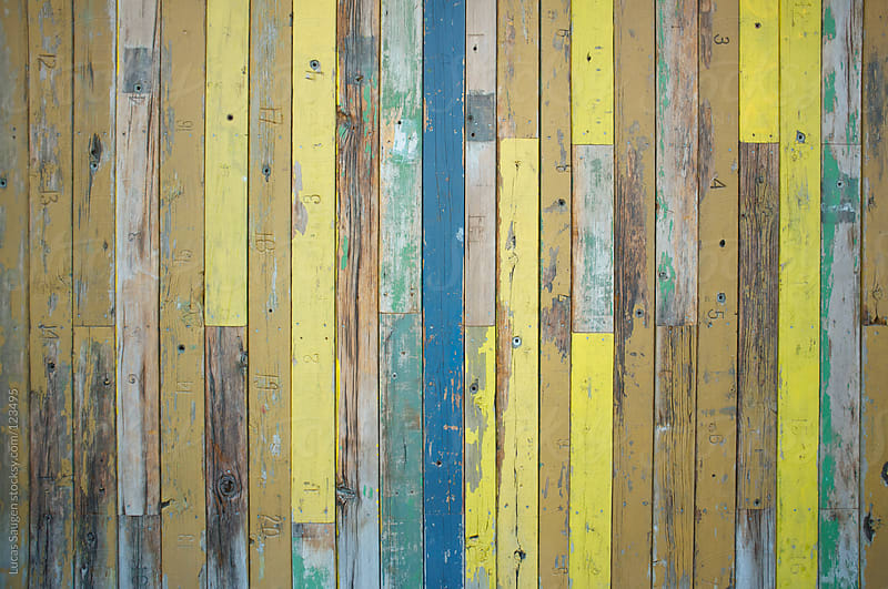 Painted wood texture by Lucas Saugen for Stocksy United