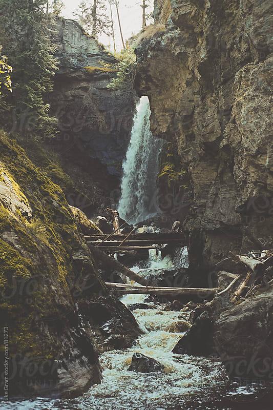 Canyon Falls by Luke Gram for Stocksy United