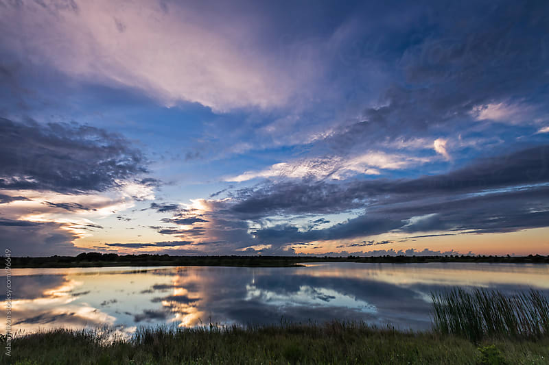 Viera Wetlands at Sunset by Adam Nixon for Stocksy United